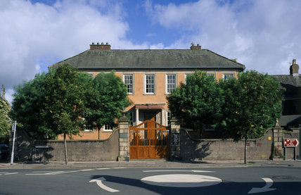 A front view of Wordsworth House which was built in 1745 for Joshua Lucock, Sheriff of Cumberland but now famous as the place where William Wordsworth was born, on 7 April 1770
