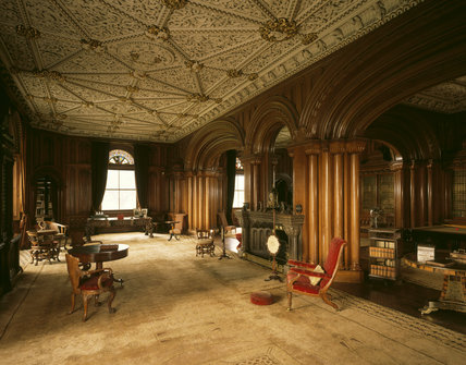 The Library at Penrhyn Castle