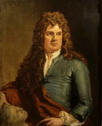 GRINLING GIBBONS (1648-1721) by George Clint (1770-1854) from Petworth