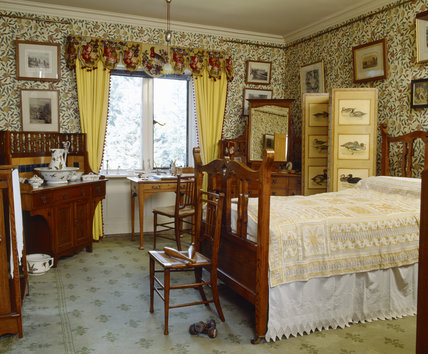 The Yellow Bedroom With William Morris Quot Pomegranate Quot Or