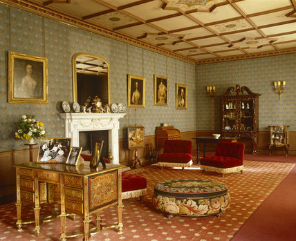 The West Drawing Room At Oxburgh Hall Fifteenth Century