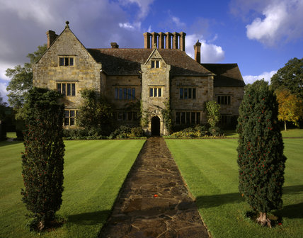 View of the East Front of Bateman's, the home of Rudyard Kipling