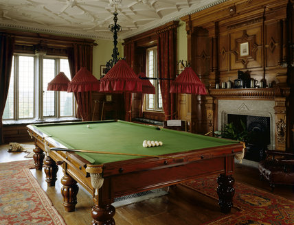 The Billiards Room at Lanhydrock