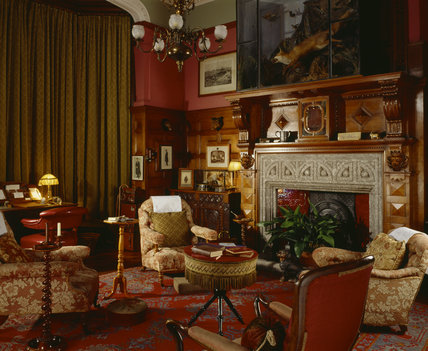 Victorian Fireplace Living Room