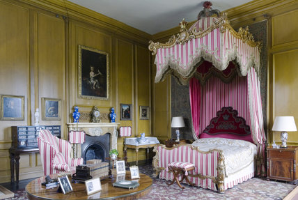 The Queen's Bedroom at Belton House, Lincolnshire