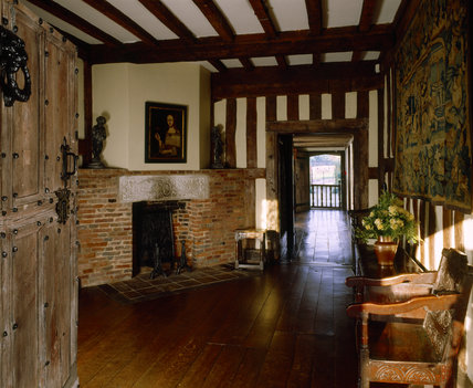 View of the Inner Hall at Packwood House