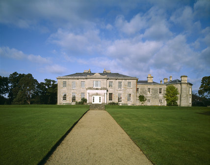 The West Front of the Argory, designed by Arthur and John Williamson circa 1819, started in 1820 and finished c. 1824
