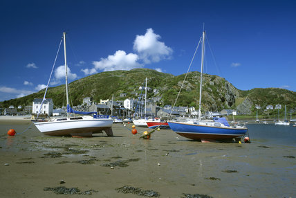 Barmouth (Not NT) town and harbour
