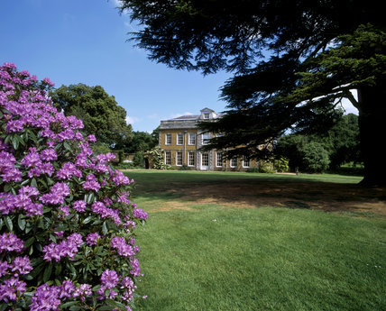 Farnborough Hall, west front from lawn