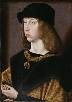 PHILIP THE FAIR (1478-1506) Archduke of Austria,  by a South Netherlandish painter, formerly attrib to the Master of the Magdalen Legend (active late fifteenth and early sixteenth century)
