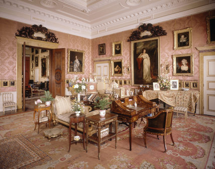 The magnificent Drawing Room at Kinston Lacy, Kingston Lacy Estate ...