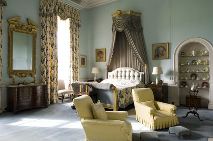 The Windsor Bedroom at Belton House, Lincolnshire