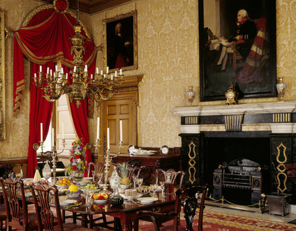 The Speakers' Parlour which became the Dining Room early C19th