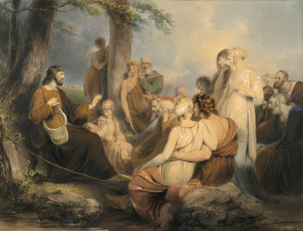 `HESIOD' (25) by William Westall A.R.A.(1781-1850)