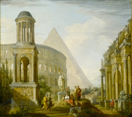 ARCHITECTURAL CAPRICCIO by Francis Harding