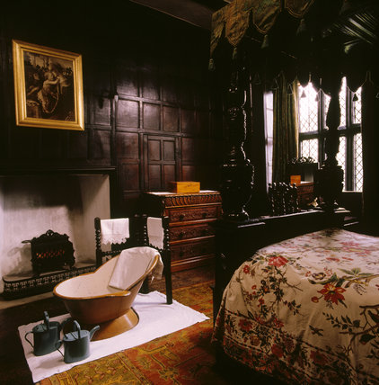 The interior of the Green Room at Speke Hall