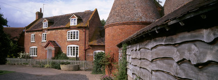 The Oast House, Holiday cottage at Lower Norton Farm on the Brockhampton Estate