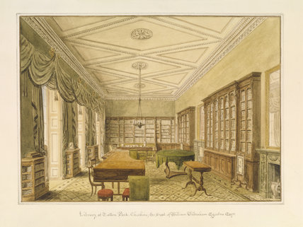 THE LIBRARY AT TATTON PARK by J