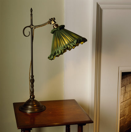 A Benson light in the Willow Bedroom at Standen & A Benson light in the Willow Bedroom at Standen Standen at National ...
