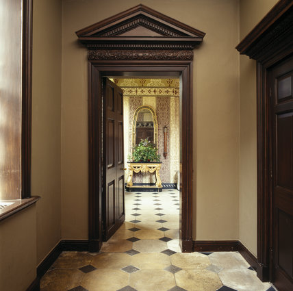 The Entrance Lobby in the Treasurer's House, York