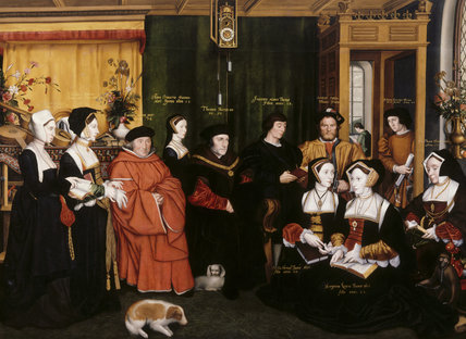 SIR THOMAS MORE AND HIS FAMILY, by Rowland Lockey after Holbein