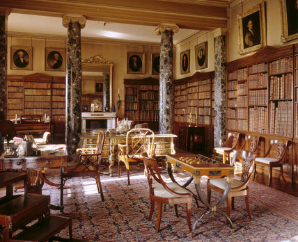 The Library At Saltram Saltram At National Trust