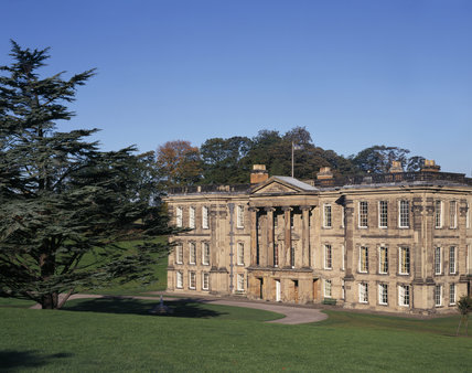 The South Front of Calke Abbey built for Sir John Harpur by an unknown architect and completed in 1703