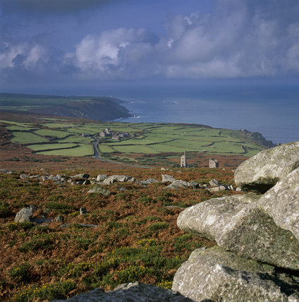 View of West Penwith from Carn Galver