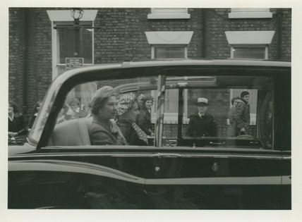 Queen Elizabeth II Visiting Liverpool