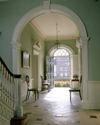 Elegant The Entrance Hall At Peckover House, Looking From The Staircase Towards The  Front Door