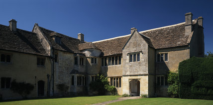 The south aspect of Westwood Manor, Wiltshire