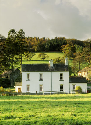 The Farmhouse on the Dolaucothi Estate