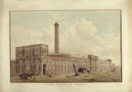 GREEN'S ECONOMISER WORKS, WAKEFIELD at Treasurer's House, York