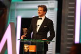 Leading Actor winner: Colin Firth (The King's Speech)
