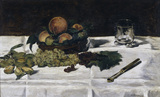 Manet/Still-life: fruit on a table/1864