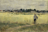 B.Morisot / In the cornfields / 1875