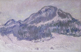 C.Monet / Mount Kolsaas in Norway / 1895