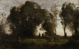 C.Corot / Dance of the Nymphs / 1860/65