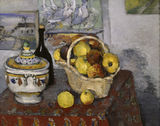 P.Cezanne / Still-life with tureen