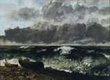 G.Courbet, Stormy Sea / The Wave