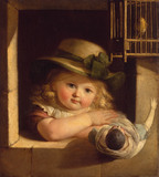 C.L.Vogel / Child with doll