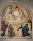 Fra Angelico / Coronat.of Mary w.Saints