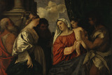 Titian / Madonna and Child with Saints