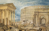 W.Turner, Antiquities of Pola, c.1818