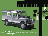 Land Rover 107 inch Station Wagon Series I 1956