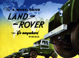 Land Rover Series I 1954 'the go anywhere vehicle'