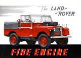Land Rover fire engine 1954