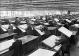 Longbridge factory Austin Motor Company 1930s Drawing Office