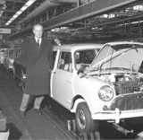 Longbridge factory BMC 1964