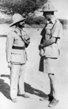 Emperor Haile Selassie and Wilfred Thesiger
